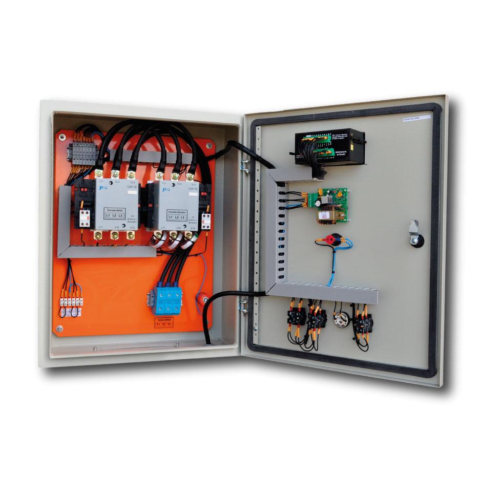 Instalação de gerador de energia elétrica