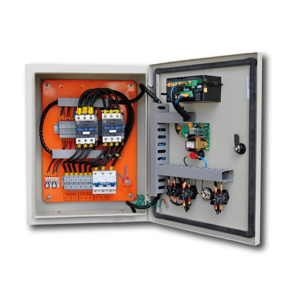 Quadro de comando automático para geradores