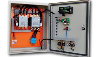 Quadro de comando elétrico para gerador