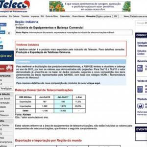 Indústria de Equipamentos e Balança Comercial